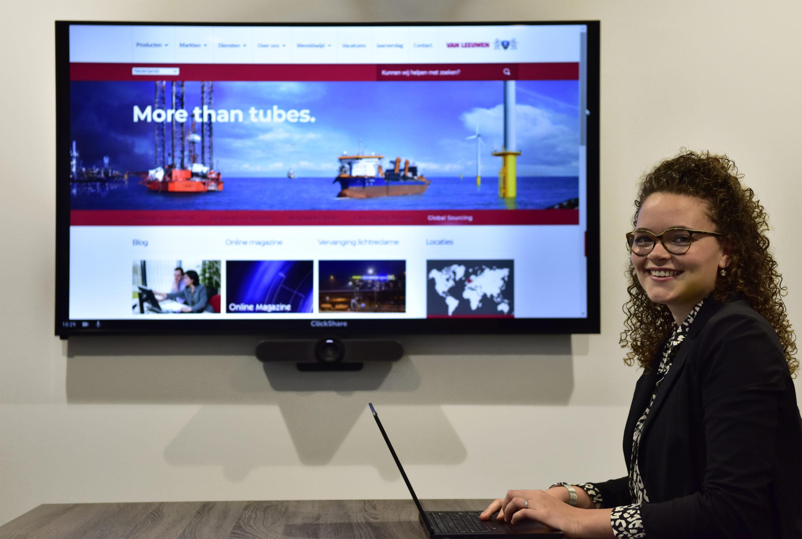 Videoconferencing bij Van Leeuwen Buizen